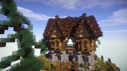 Minecraft Medieval House 2