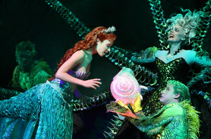 Image result for The Little Mermaid broadway