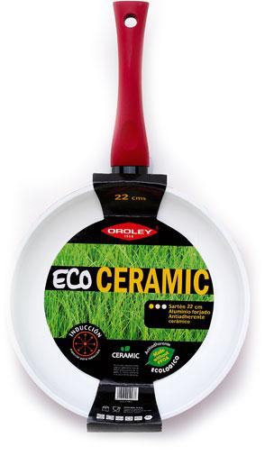 Sartn cermica Eco Cermic Oroley induccin red 22 cms  Onlinemenaje Tienda virtual  Equipacin de cocina
