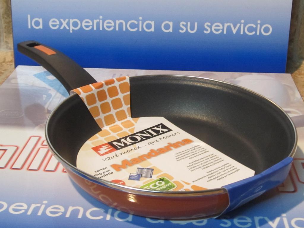 Sartn Monix mandarina acero esmaltado 18 cms