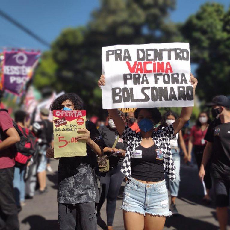 belem protesto 24jul2021