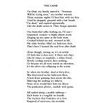 The Game By Steven Cramer Poetry Magazine