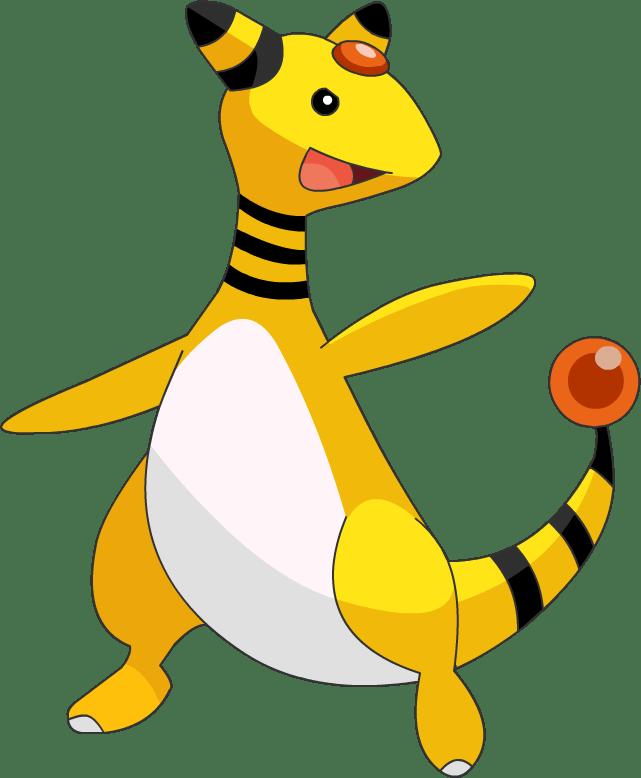 pokemon 181 ampharos rare