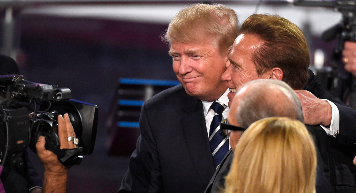 2016 The Terminator and The Donald  POLITICO Magazine