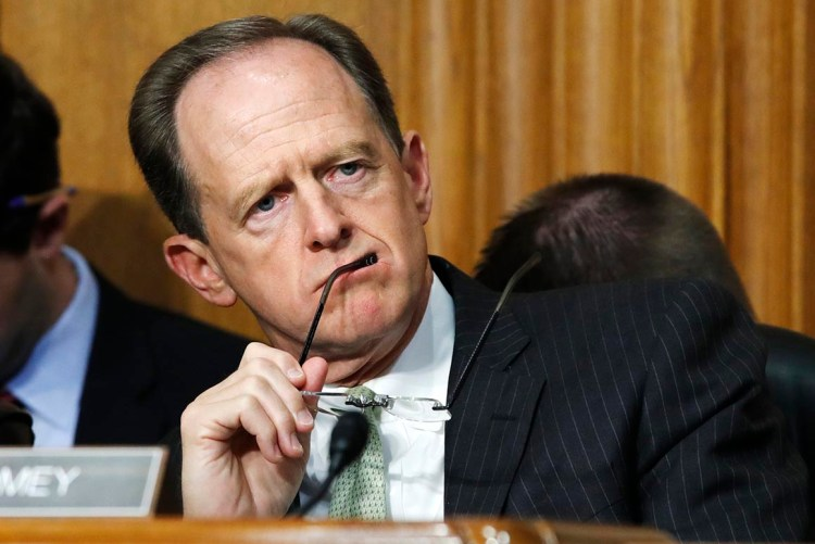 Trump 'sympathetic' to face mask suggestion, Toomey says