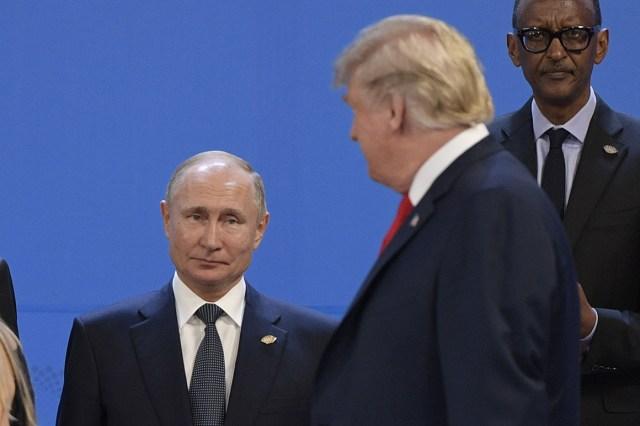 Trump: It's 'common sense' to invite Putin to G-7