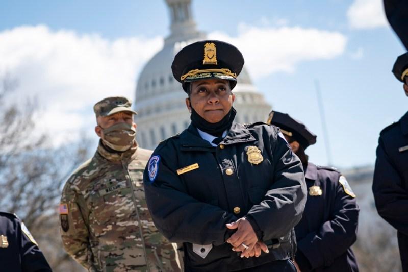 Acting Capitol Police Chief Yogananda Pittman.