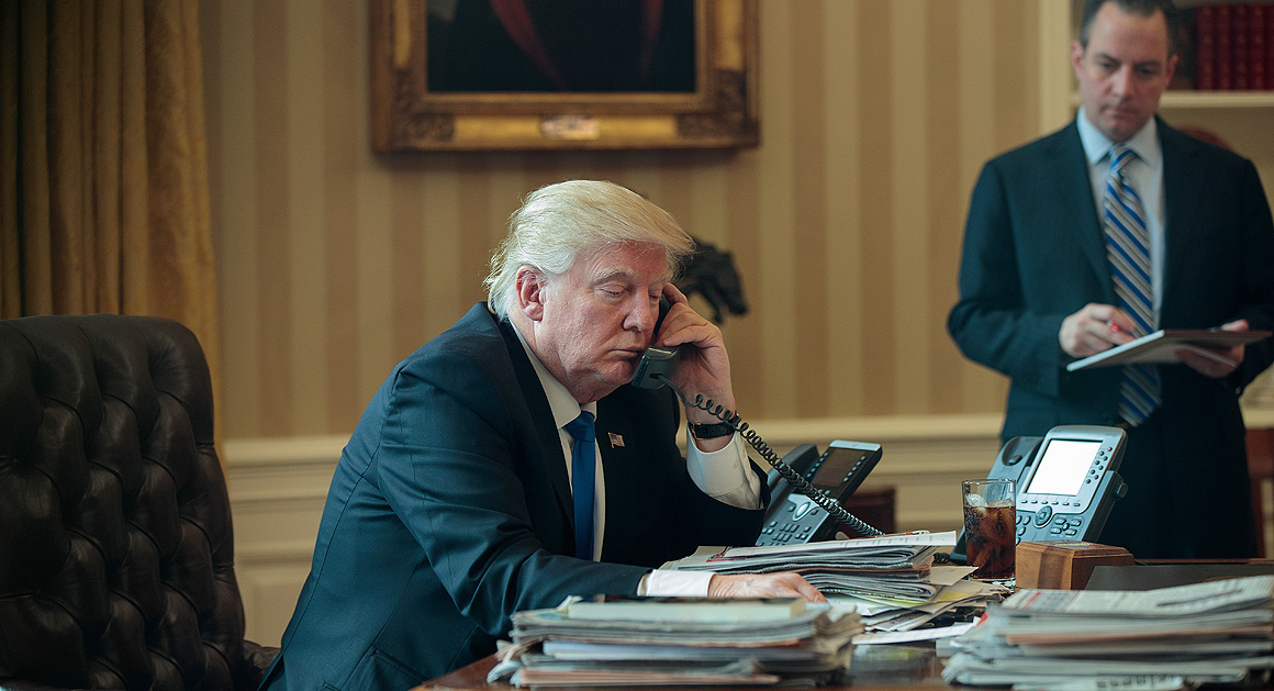 How Trump gets his fake news  POLITICO