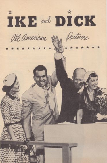 A campaign brochure for the Eisenhower/Nixon 1952 campaign.