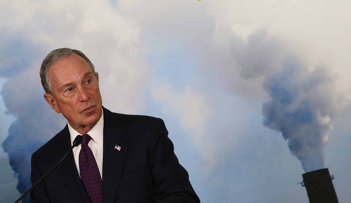 Michael Bloomberg is pictured. | Getty