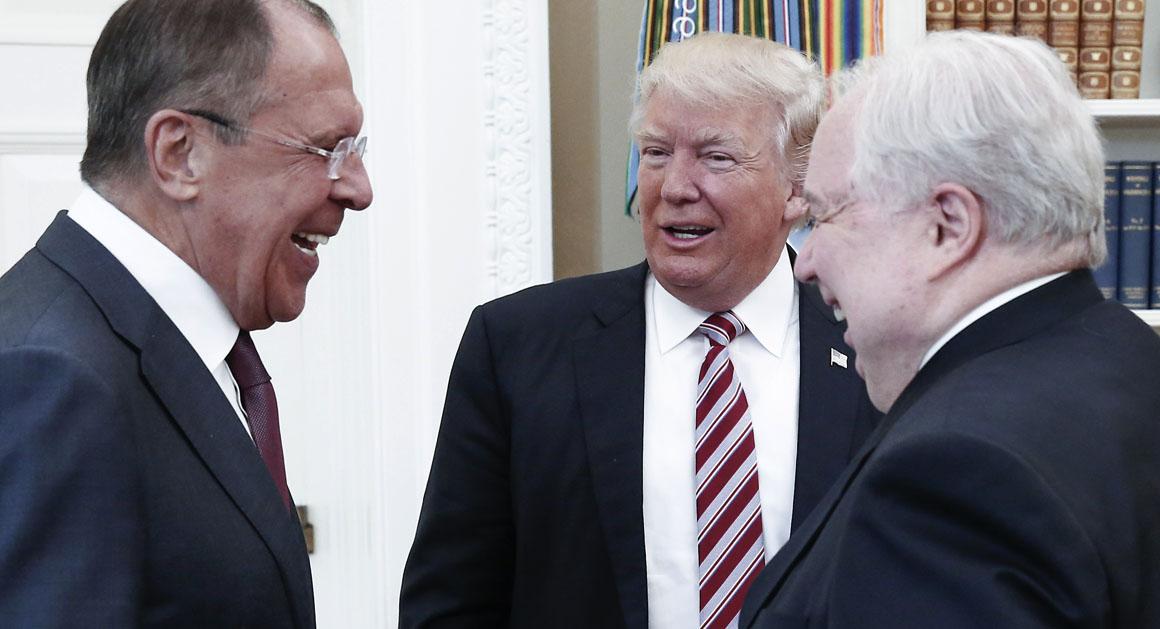 Image result for trump lavrov