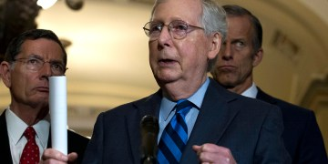 McConnell suggests he will not cut short impeachment trial