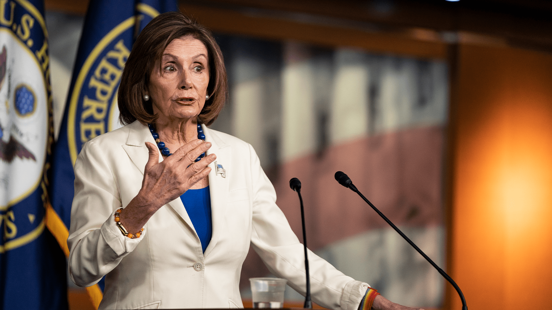 Pelosi: Evidence against Trump is 'clear'