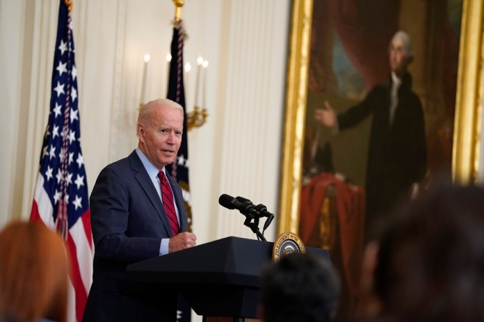 Biden lauds bipartisan deal, but says 'human infrastructure' is a must