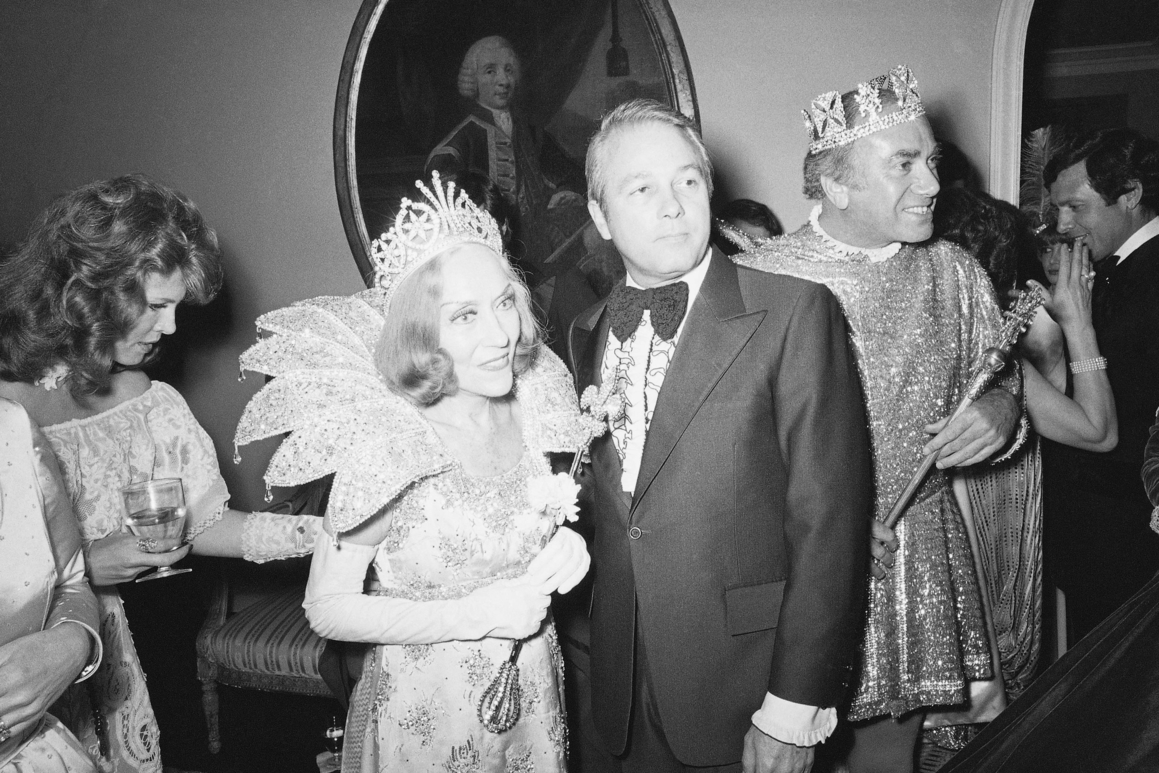 Edwin Edwards and Gloria Swanson in 1977