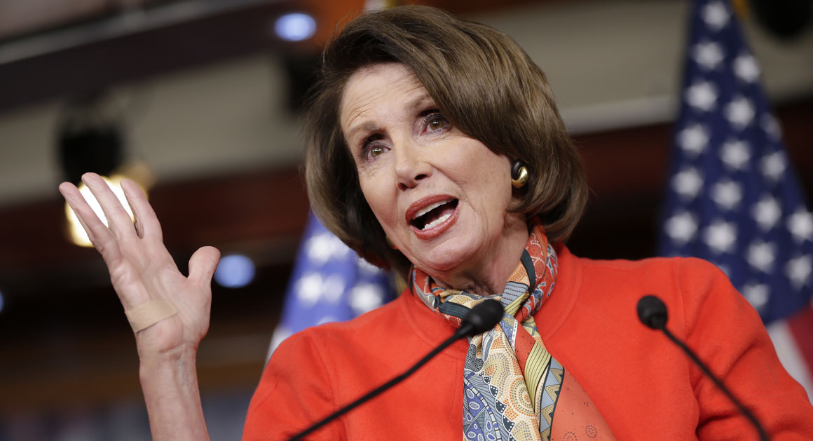 Pelosi says Trumps chief strategist is a white nationalist  POLITICO