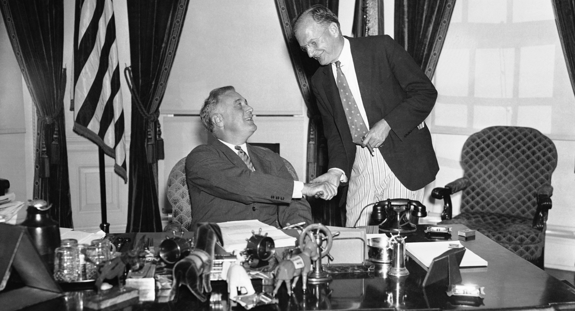 FDR signs Neutrality Act Aug 31 1935  POLITICO