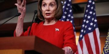 Pelosi and Mnuchin meet to break border wall impasse