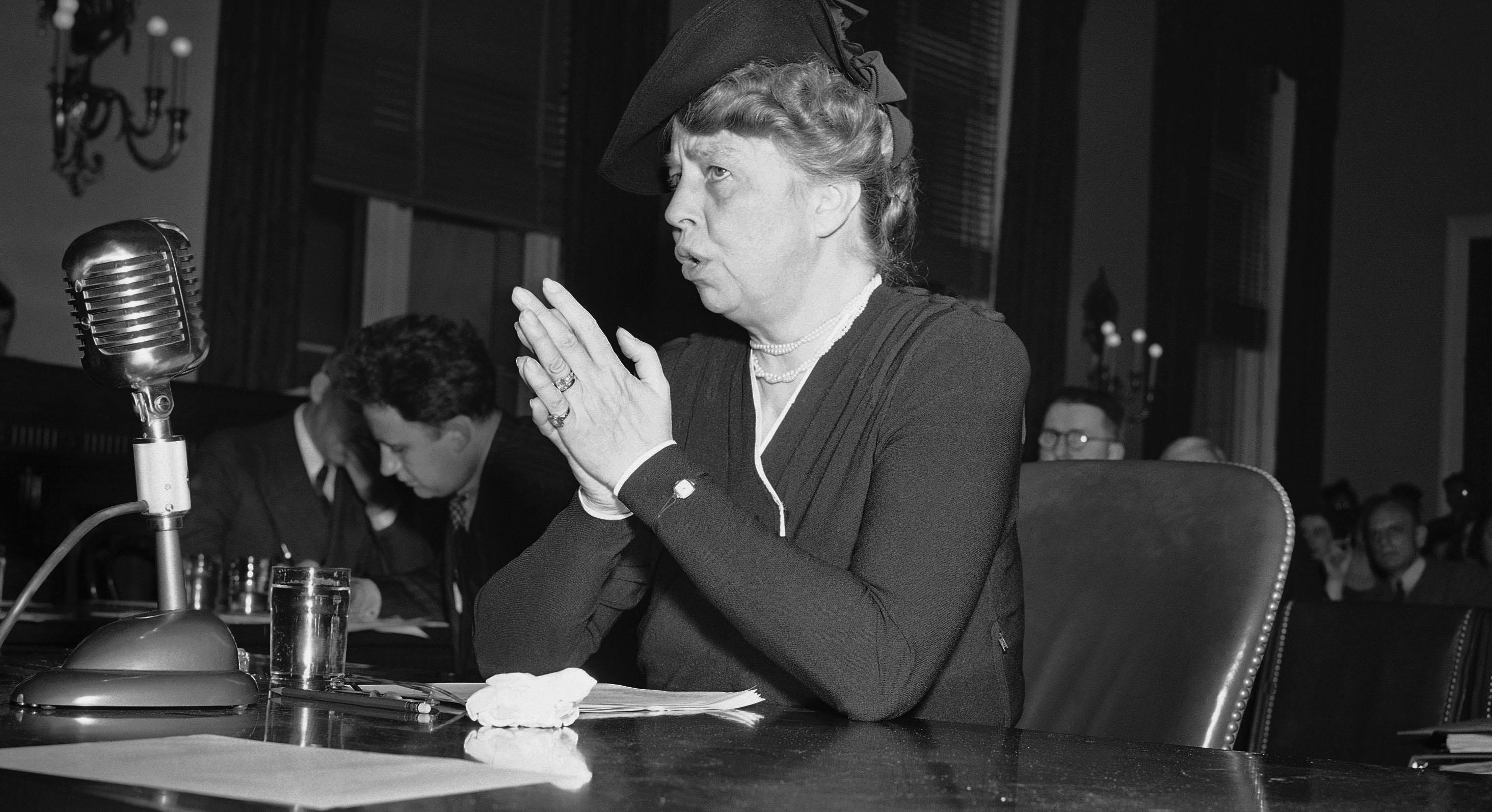 Eleanor Roosevelt born in New York City Oct 11 1884