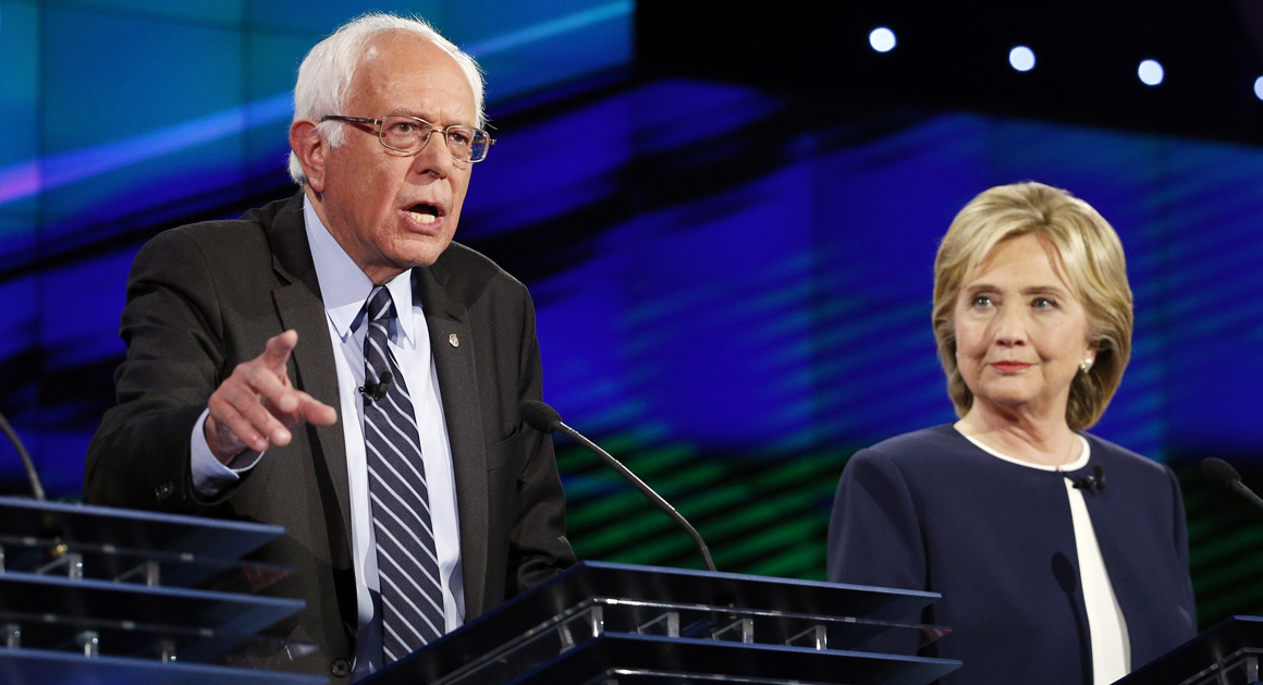 Bernie Sanders claims a debate win with cash as evidence