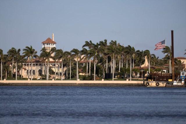 Former President Donald Trump's Mar-a-Lago resort.