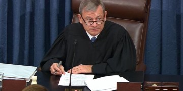 Chief Justice John Roberts admonishes House managers and White House counsel