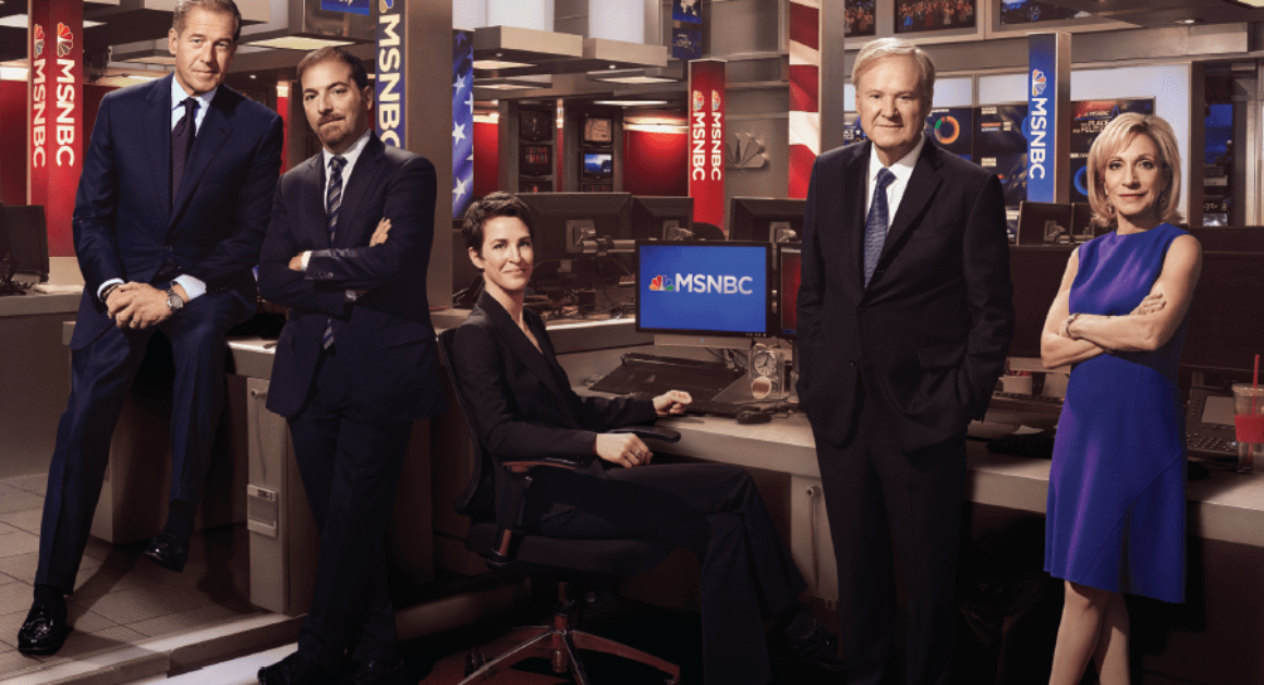 MSNBCs year of standing up straight POLITICO Media