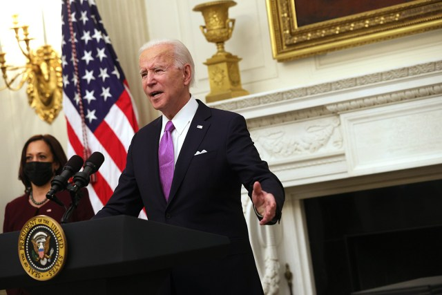 President Joe Biden is pictured. | Getty Images
