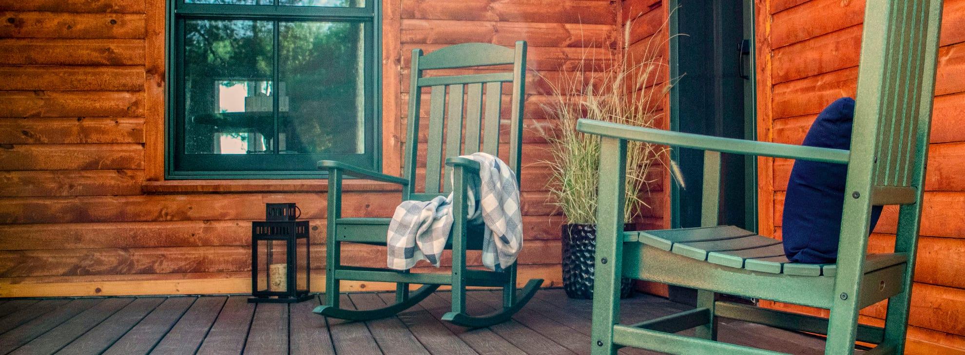 rustic cabin outdoor furniture