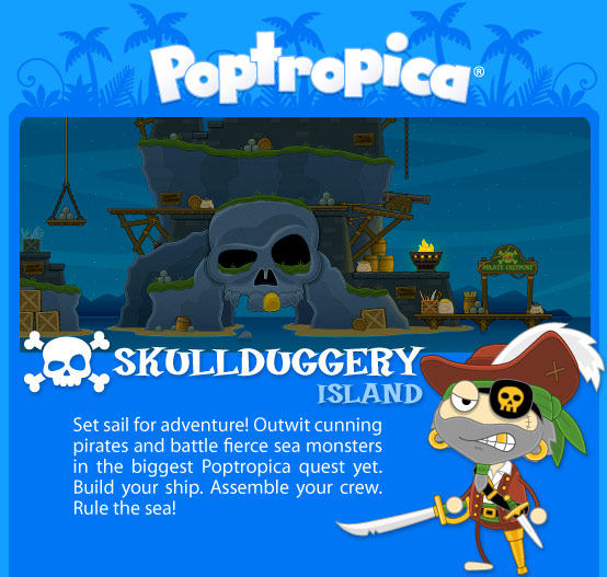 Skullduggery Island Coming Soon!