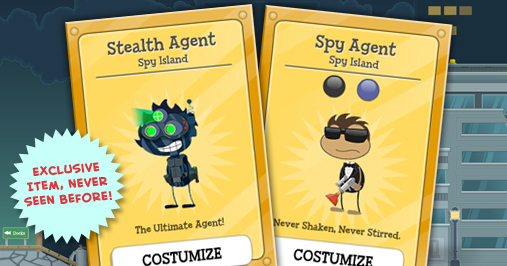 New Spy Items!