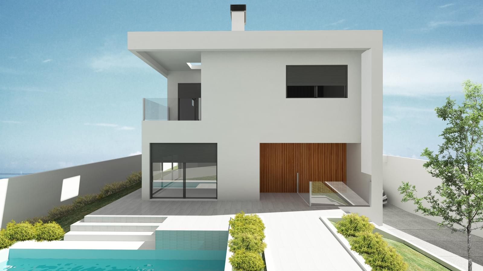 Excellent Brand New Villa Of Modern Design In The A