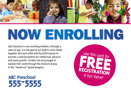 33 Brilliant Private School  Education Direct Mail