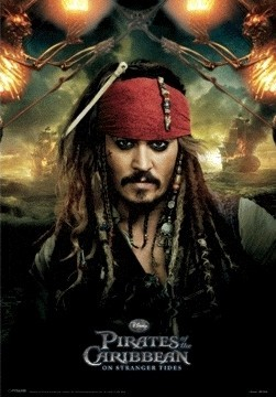 3d poster pirates of the caribbean 4 jack