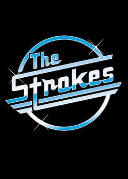 the strokes logo poster plakat 3 1 gratis bei europosters