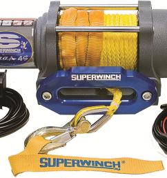 superwinch terra 45 sr atv winches 1145230 free shipping on orders over 99 at powersports place [ 1494 x 866 Pixel ]