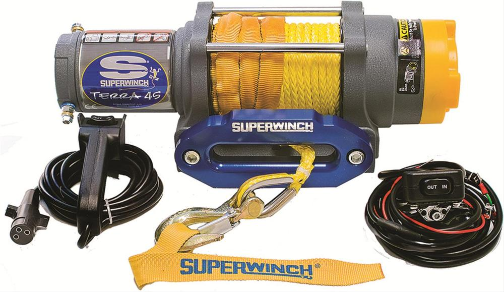 medium resolution of superwinch terra 45 sr atv winches 1145230 free shipping on orders over 99 at powersports place