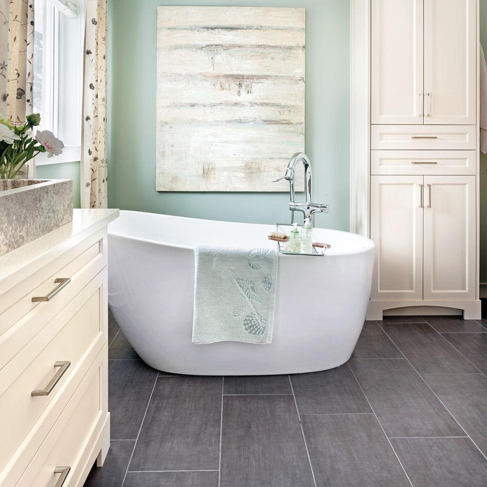 Douceur champtre dans la salle de bain  Salle de bain  Avant aprs  Dcoration et rnovation