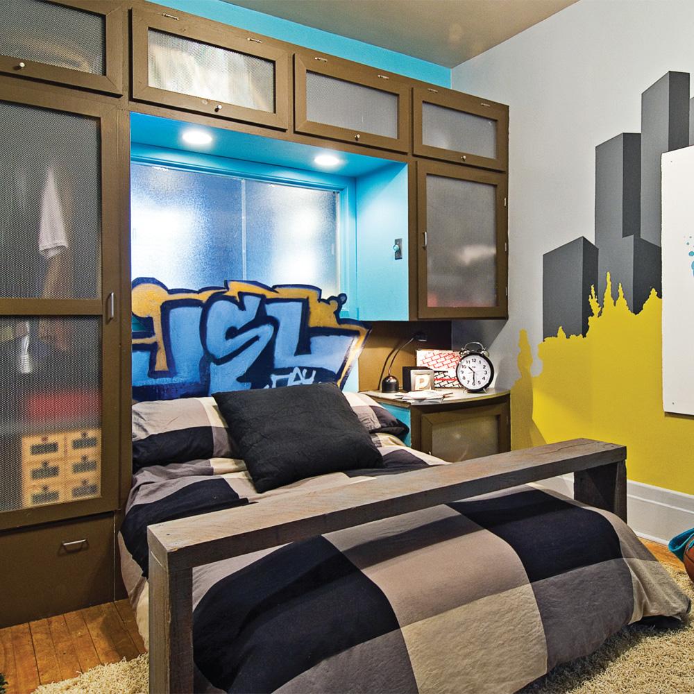 LA chambre cool pour garon  Chambre  Avant aprs  Dcoration et rnovation  Pratico Pratique
