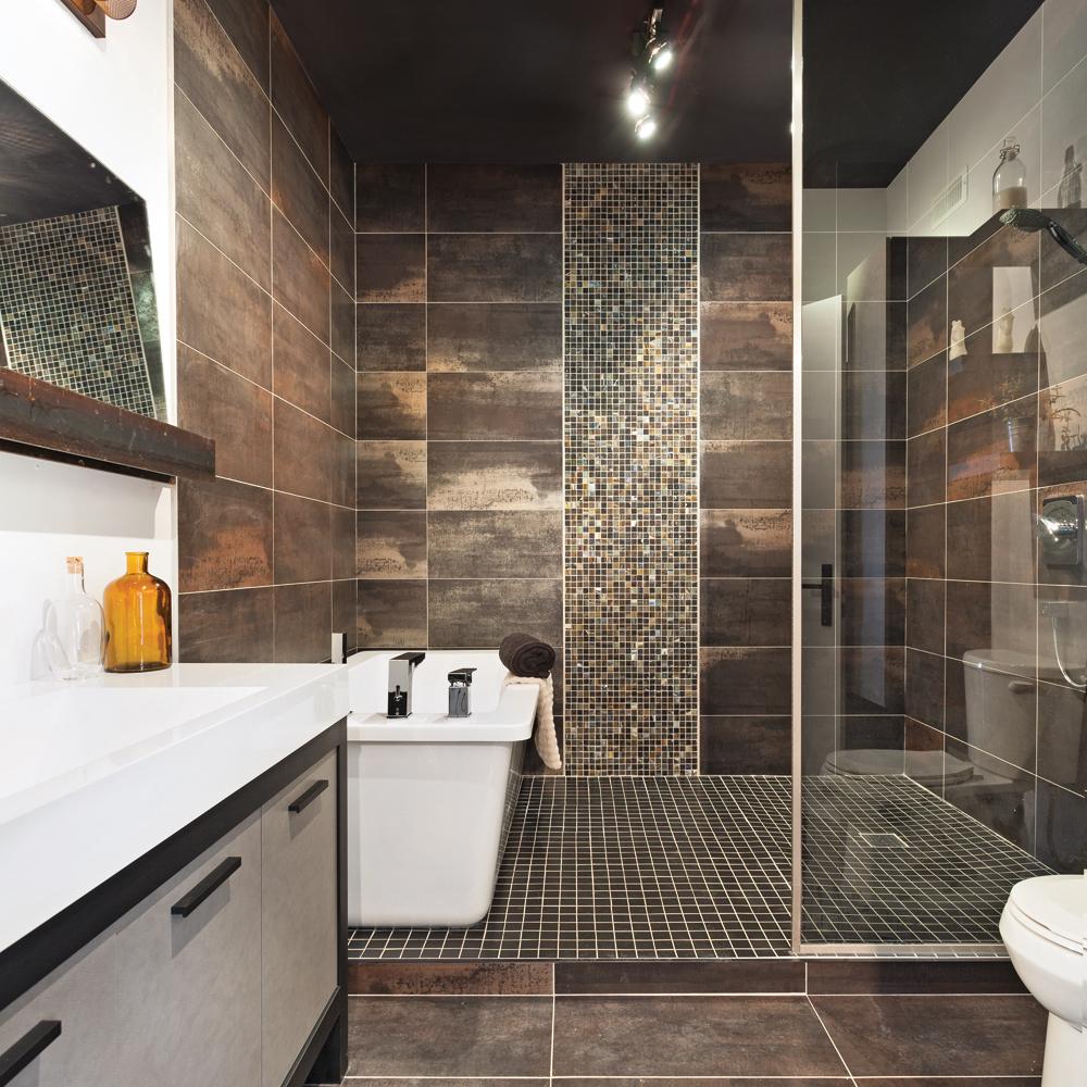 Ambiance mtallique  la salle de bain  Salle de bain  Inspirations  Dcoration et rnovation