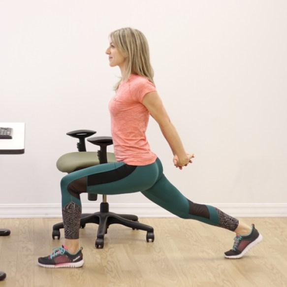 """Résultat de recherche d'images pour """"exercices fentes au bureau"""""""