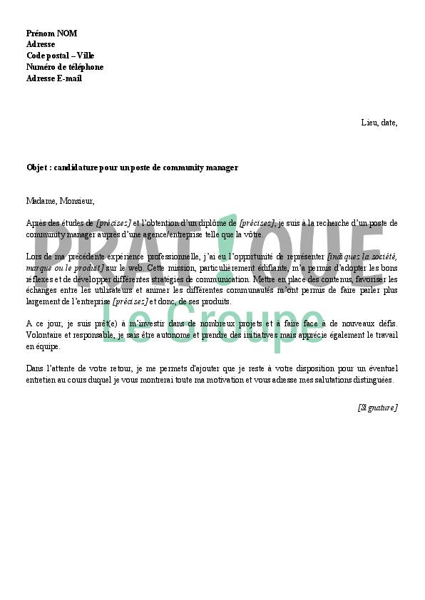 photo lettre de motivation type lettre de motivation