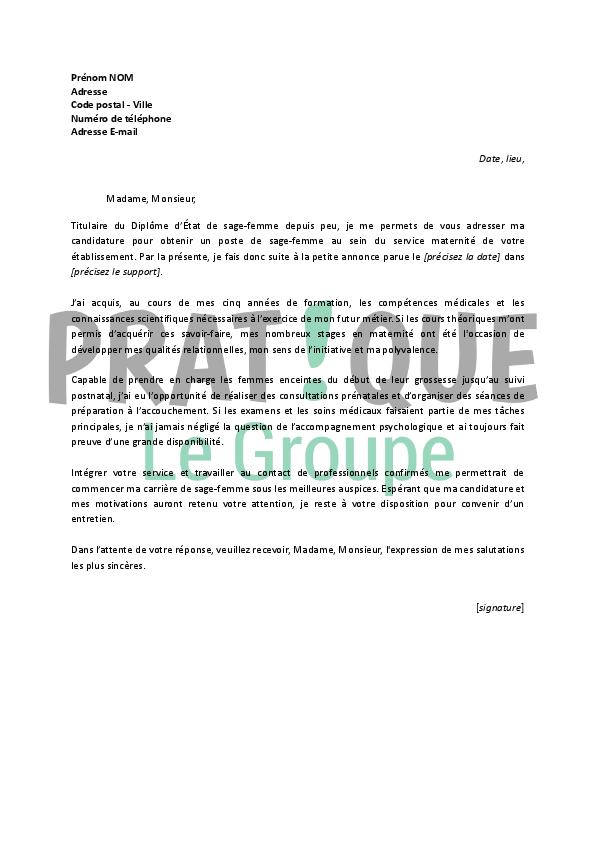meilleur exemple de lettre de motivation pour emploi modele de lettre