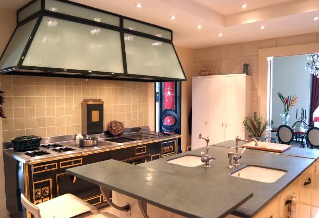 table de cuisine inox