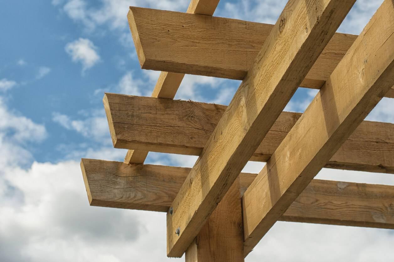 Fabriquer soimme sa tonnelle avec des branches ou des bois de rcupration  Pratiquefr