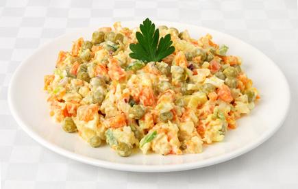 Recette de la salade russe  Pratiquefr