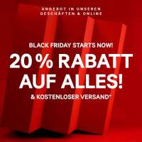 H&M Black Friday: 20% Rabatt auf alles + kostenloser