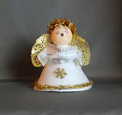 Christmas Angel Crafts For Preschoolers