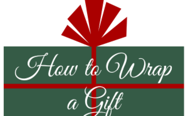How To Wrap A Gift Allfreeholidaycrafts