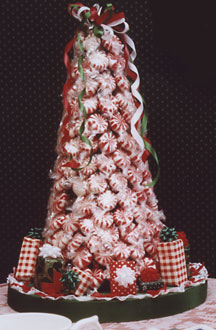 Peppermint Sweets Christmas Tree  FaveCraftscom